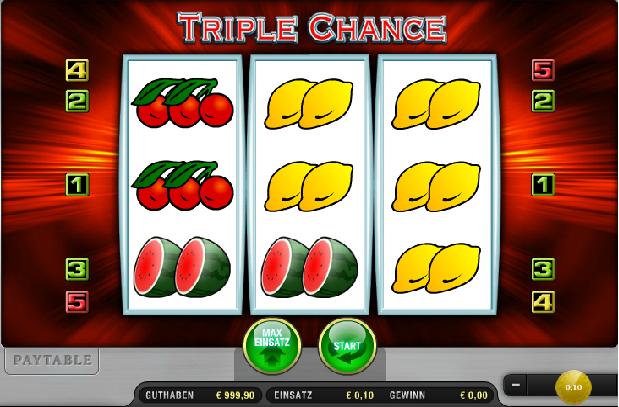 Triple Chance Gratis Spielen