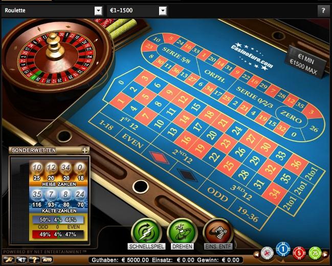 Roulette gratis spielen