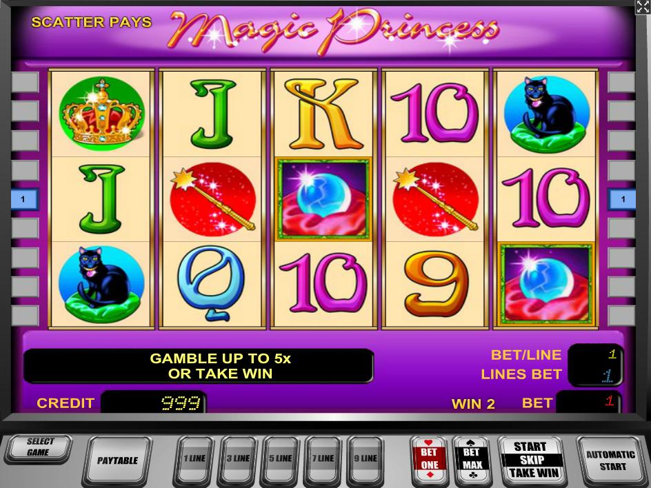 Magic Princess gratis spielen