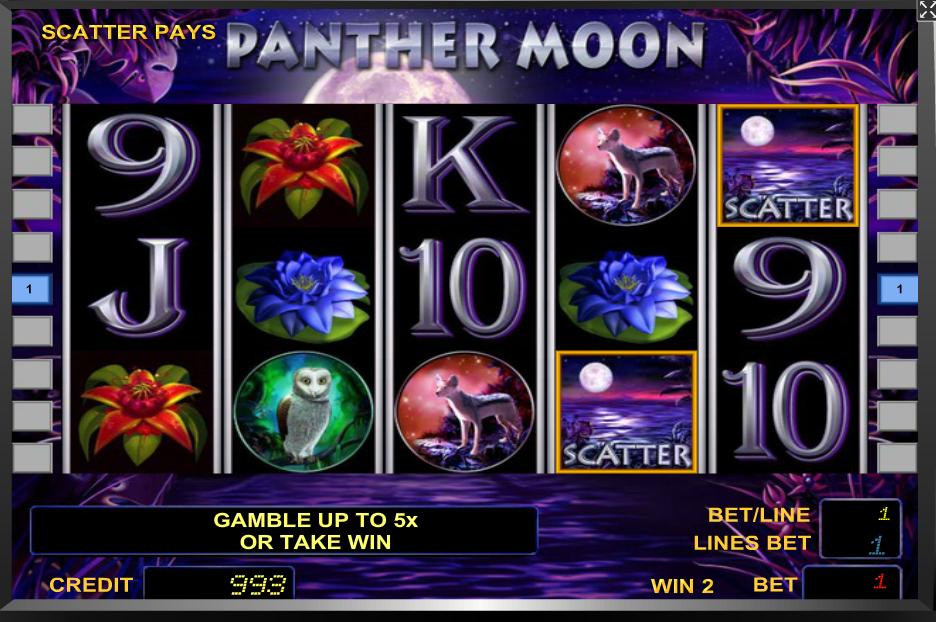 Panther Moon gratis spielen