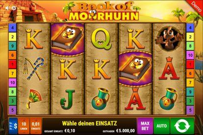 book of moorhuhn gratis