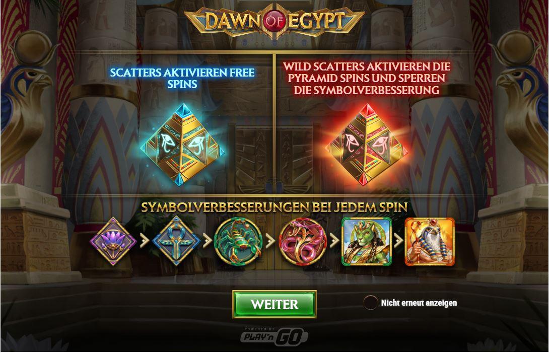 Dawn Of Egypt kostenlos spielen